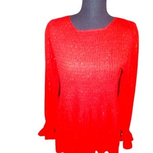 Rose &Olive Holiday Career Top med. Nwt
